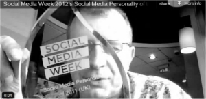 social media weeks social media personality of the year 2011