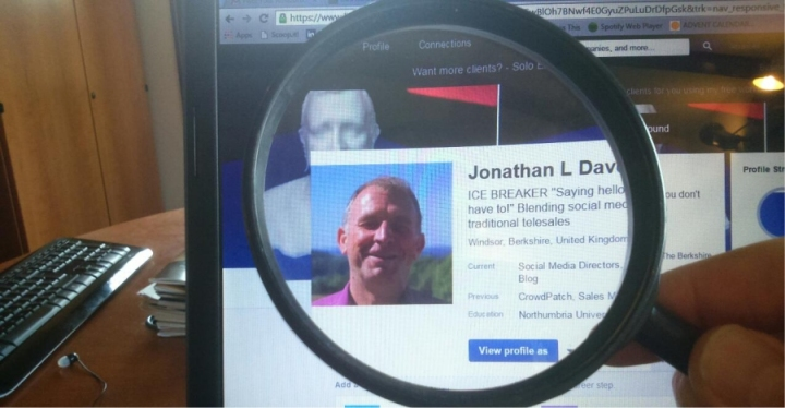 jonathan l davey under the microscope social media directors