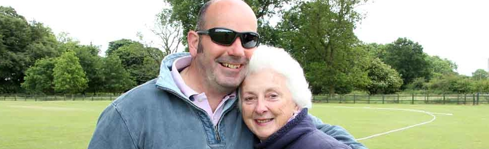 positive energy pic mum and bruce