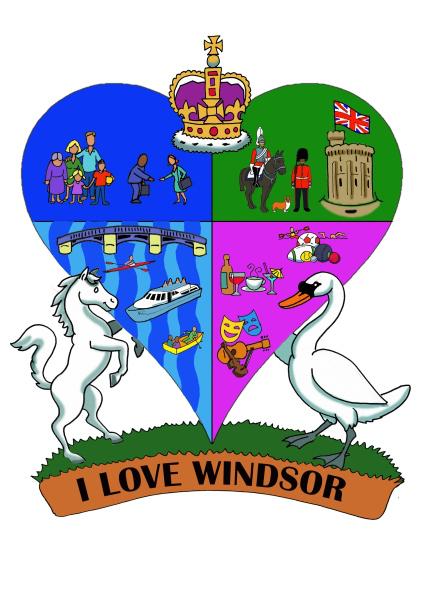 social media directors i love windsor logo
