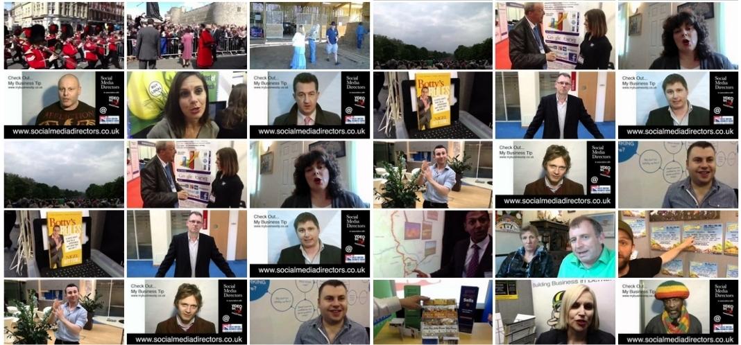 social media directors people montage