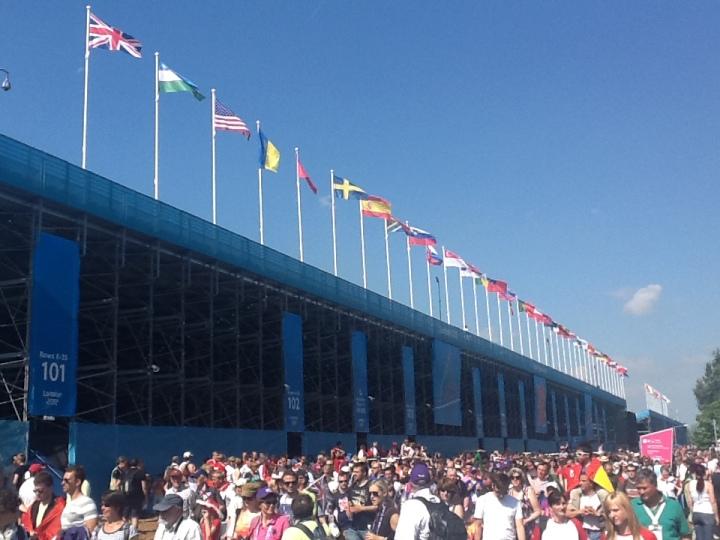 summer olympics dorney