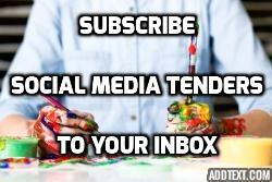 social media tenders to your inbox